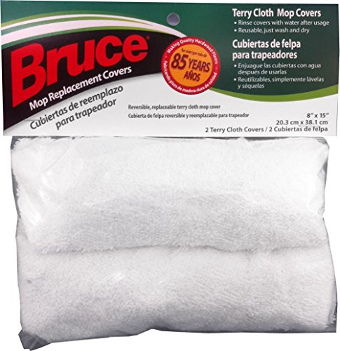 Bruce Replacement Terry Cloth Mop Covers (Bruce Floor Cleaner Mop Covers compare prices)