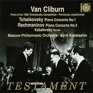 Van Cliburn - Finale des Tschaikowsky-Wettbewerbes 1958