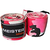 MEISTER MMA 180 HANDWRAPS ALL COLORS boxing hand wraps : Pink Camo