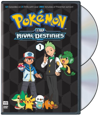 Pokemon BW RD Set 1 DVD
