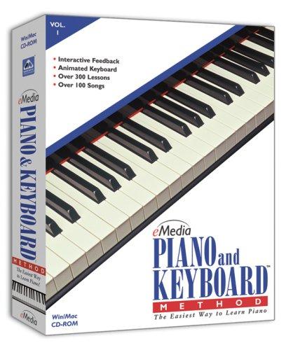 eMedia Piano and Keyboard Method Volume 1 OLD VERSIONB0000C52MU : image