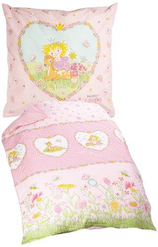 """Wohnen 2239_01 135x200cm Renforcé-Kinder-Lizenz-Bettwäsche """"Prinzessin Lillifee"""" rosa"""