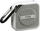 【Amazon.co.jp限定】TDK Life on Record Bluetoothワイヤレススピーカー アウトドアに強い防塵・防滴(IP64相当) NFC対応  TREK Microシリーズ フラストレーションフリーパッケージ (FFP)ホワイト AT-A12WH-FFP
