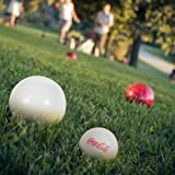 Coca Cola Bocce Ball Set - Regulation Size with Carrying Case