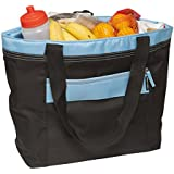 Cooler Bag by Freddie and Sebbie - Large Insulated Lunch Soft Bottle Tote Box
