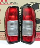 Rear Tail Light Lamp Pair Lr for Nissan Navara D22 Frontier Pickup Fit 1997-2004