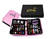 America's Most In-demand Sewing Kit: Professional Grade Tesky Sewing Kit. Ideal for Home, Camping, Emergency, Travel, and More. Your Satisfaction Is Our Priority.