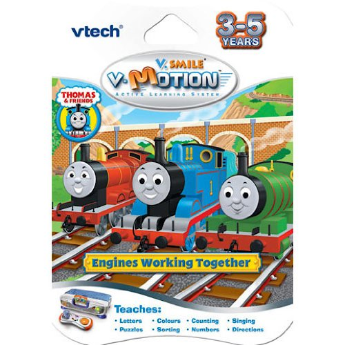 Vtech – V-Motion: Thomas and Friends Engines Working Together