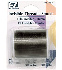 Ez Quilting Invisible Thread Smoke Black Amazon Co Uk