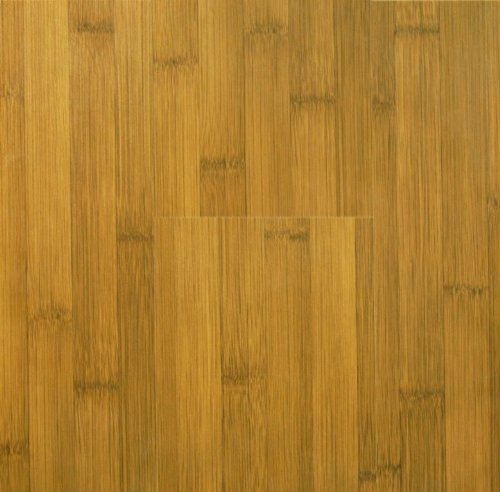 8.3 mm Durique Laminate Bamboo Caramel Flooring (6 x 7-3/4 inch Sample)