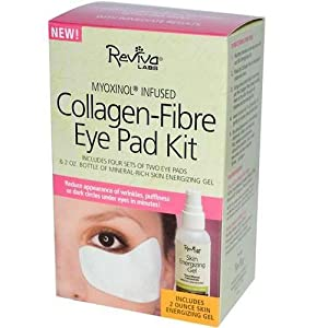 Reviva Labs Collagen-Fibre Eye Pad Kit 5 Piece Kit