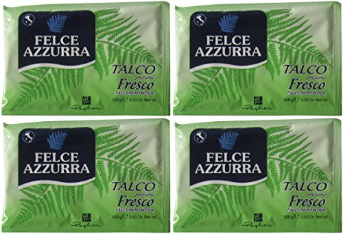 "Paglieri: ""Felce Azzurra"" Refill Envelope, Fresh Scent * 3.53 Ounce (100gr) Packages (Pack of 4) * [ Italian Import ] - 1"