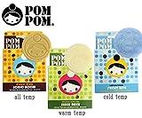 [ポンポン]POMPOM COLD TEMP 滑走固形ワックス ホットアイロン用
