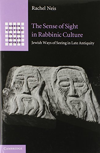 The Sense of Sight in Rabbinic Culture (Greek Culture in the Roman World)