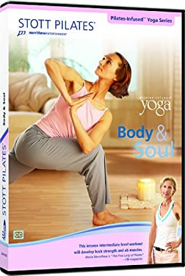 Stott Pilates Body and Soul-Pilates-Infused Yoga DVD (England/France)