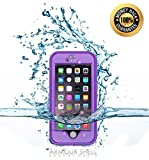 #1 Best Waterproof iPhone 6 Plus Case, Underwater Protective Phone Cover Premium Cases. Shockproof, Dustproof & Scratch Resistant Protection. FREE Bonus Charge Cable, Protect & Defend By Armour Shell
