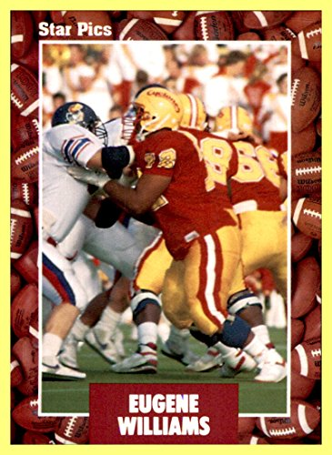 1991 Star Pics #78 Eugene Williams IOWA STATE (Stores In Eugene Or)