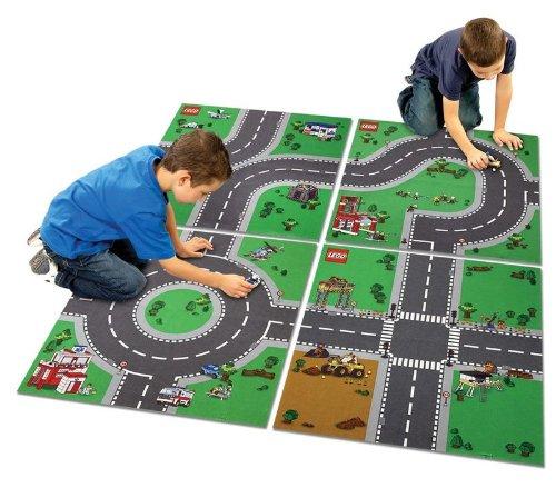 Lego City Fabric Series tapetes de juego-Construcción, Bomberos, Emergencias y la Policía
