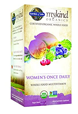 Garden of Life mykind Organics Womens Once Daily Multi, 60 Organic Tablet