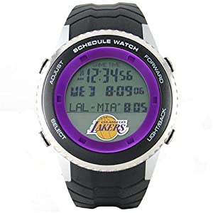 NBA Mens NBA-SW-LAL Schedule Series Los Angeles Lakers Watch by Game Time