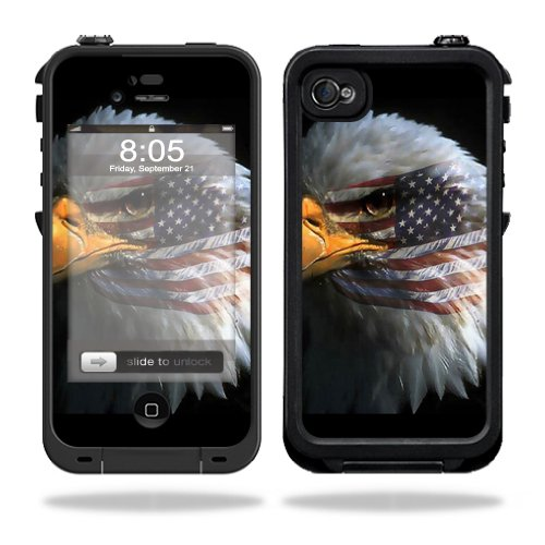Mightyskins Protective Vinyl Skin Decal Cover for LifeProof iPhone 4 / 4S Case wrap sticker skins Eagle Eye (Iphone 4s Skin Decal compare prices)