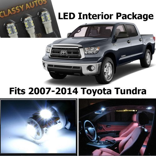 Toyota Tundra White Interior LED Package (10