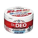 カーメイト 車用 除菌消臭剤 ドクターデオ(Dr.DEO) 大型 置き型 ウイルス除去 無香 安定化二酸化塩素 500g D173