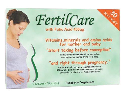 Babystart FertilCare Fertility Vitamins for Women x30 Capules