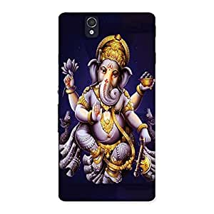 Gorgeous Dancing Ganesha Back Case Cover for Sony Xperia Z
