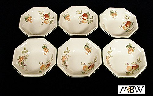 English New Set Of 6 Johnson Brothers Soup Octagonal Bowls