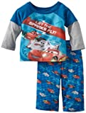 Disney Baby-boys Infant Let The Sparks Fly 2 Piece Set, Royal, 12 Months