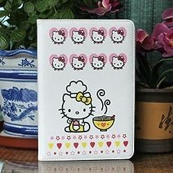 Hello Kitty Cute Leather Case for Apple iPad mini (NOODLE)