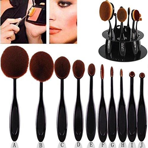 makeup-brushes-shelf-maange-10pc-set-toothbrush-eyebrow-foundation-eyeliner-lip-oval-brushes-acrylic
