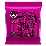 Cuerdas Ernie Ball 3223 Super Slinky de nickel .009 - .042 paquete de 3