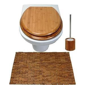 eisl sr ba02 bambus wc set 3 teilig baumarkt. Black Bedroom Furniture Sets. Home Design Ideas