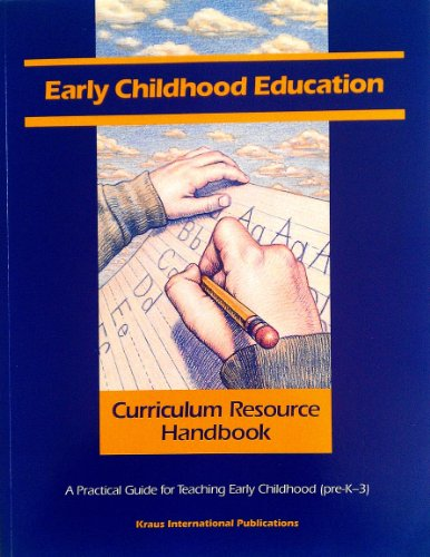 early childhood curriculum and methods