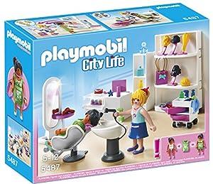 Amazon Com Playmobil City Life Beauty Salon 5487 67