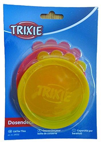 Artikelbild: Trixie Dosendeckel, ø 10 cm, 2 Stück, farblich sortiert