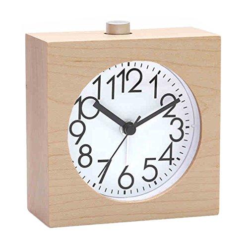 Vintage Silent Alarm Clock Multifonction Horloge Avec Veilleuse Fonction Snooze