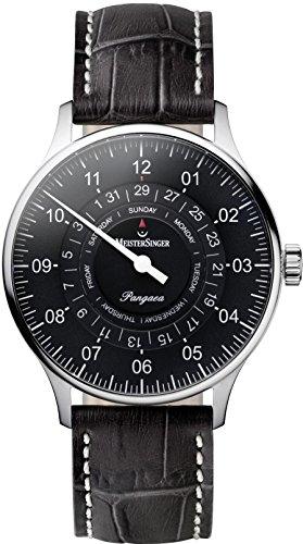 MeisterSinger Pangea Day Date PDD907 Reloj automático con sólo una aguja Clásico & sencillo