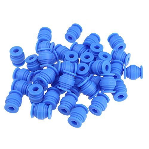 T-trees 40pcs Fpv Vibration Damping Balls Dual-head Anti-vibration Rubber Ball for Gimbals Gopro DJI Quadcopter Aerial Photograpy Blue