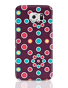 PosterGuy Samsung Galaxy S6 Case Cover - Colorful Polka Dots | Designed by: Codeburnerz Technologies