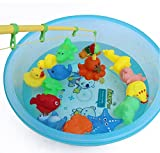 20-Pieces-Magnetic-Bath-Fishing-Toy-Animals-Playsets-with-Sound