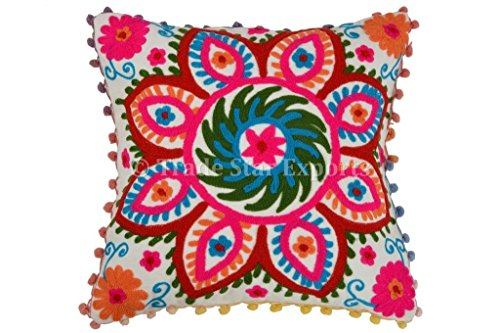 pom-pom-pillow-cover-suzani-pillows-16x16-outdoor-cushions-bohemian-pillow-cases-decorative