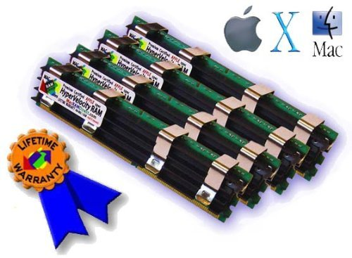 Certified Apple HyperVelocity 16GB Mac Pro 4X4GB DDR2 800 FB DIMM 800MHz RAM Memory Kit 4 Pieces 4GB 240 Pin 256x72 18v Review