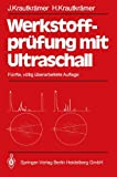 img - for Werkstoffpr fung mit Ultraschall (German Edition) book / textbook / text book