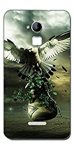 DigiPrints High Quality Printed Designer Soft Silicon Case Cover For Coolpad Dazen Note 3
