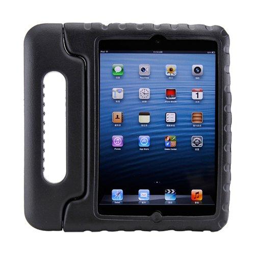 Gearonic Children Safe Kids Friendly Protective Foam Case Cover Handle Stand For Ipad Mini, Black (Av-5262Bpuib) front-284075