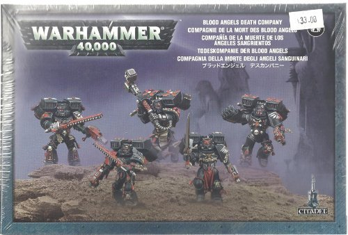 Blood Angels Death Company Space Marines Warhammer 40k by Games Workshop by Games Workshop (40k Death Company compare prices)