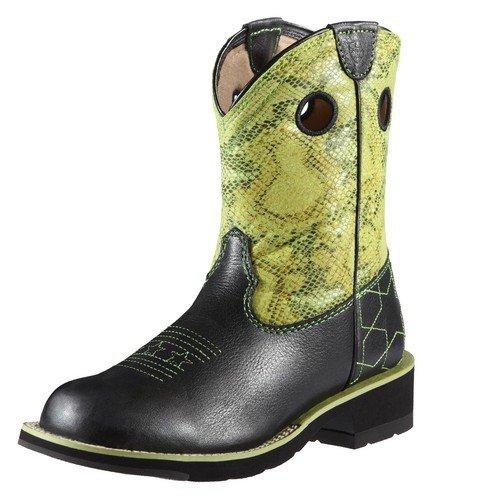 Ariat Women s Starstruck Boot Black Deertan Lime python